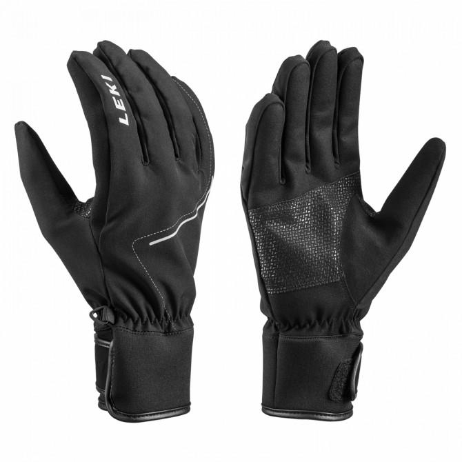 Ski gloves Leki Tour Shell black