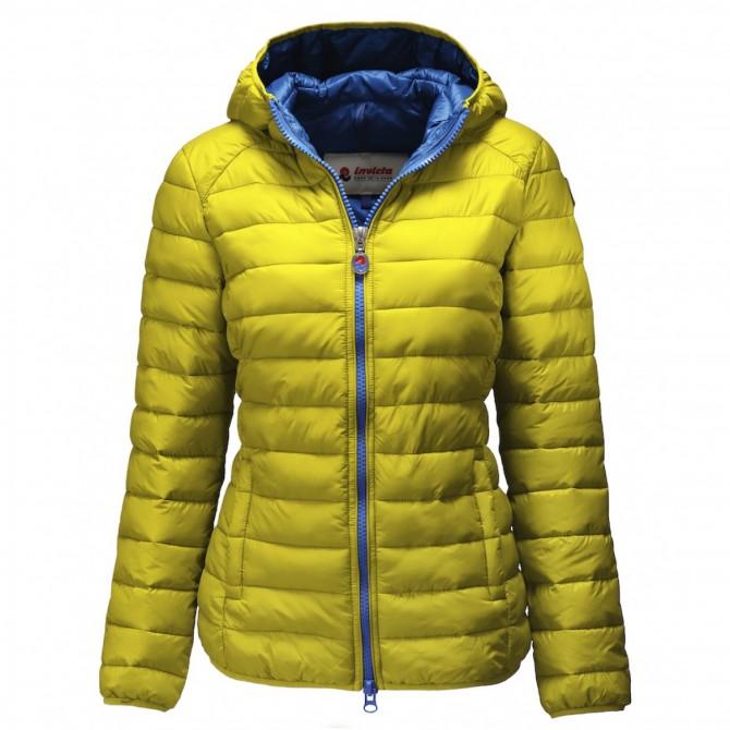 Down jacket Invicta 390T Woman yellow