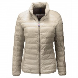 Down jacket Invicta Woman ecru-beige