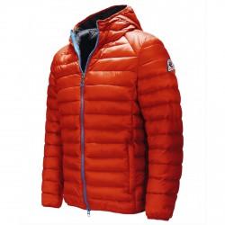 Down jacket Invicta Man red-blue