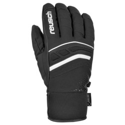 Ski gloves Reusch Bellano black-white