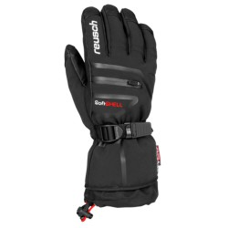 Ski gloves Reusch Down Spirit Gtx black-white