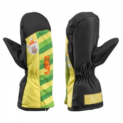 Mitten Leki Little Bear Baby lime-black-green