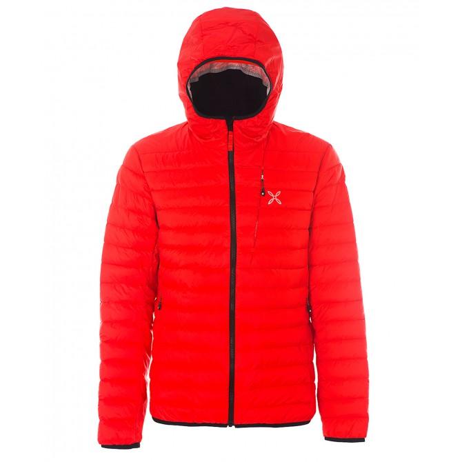 Abajo chaqueta Montura Genesis hombre rojo