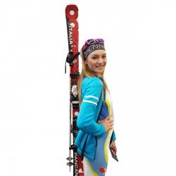 Porta esqui Skisy Italia negro