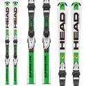 Ski Head Supershape Lr + fixations Lrx 7.5 Ac Br 78