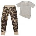 pantalon + t-shirt Freddy STREAMTS femme