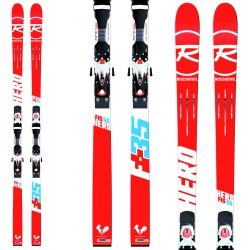 Ski Rossignol Hero Fis Gs + bindings Axial 3 120
