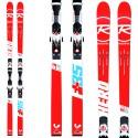 Ski Rossignol Hero Fis Gs R21 WC + fixations Axial 3 150 Rockerflex