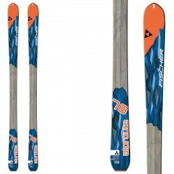 Mountaineering ski Fischer Alproute 78