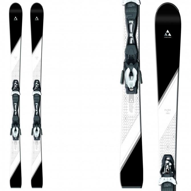 Ski Fischer Pure + fixations W9