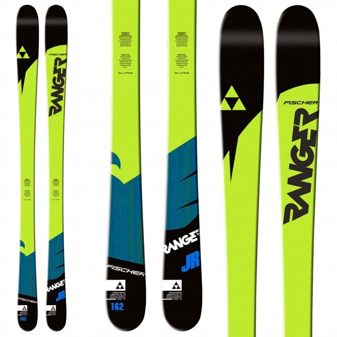 Ski Fischer Ranger Jr + plate Quicklock + bindings Goode
