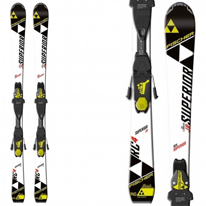 Ski Fischer Rc4 Superior Jr Rail + bindings Fj4 Ac