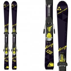 Ski Fischer Rc4 Race Jr Rail + fixations Fj4 Ac Rail