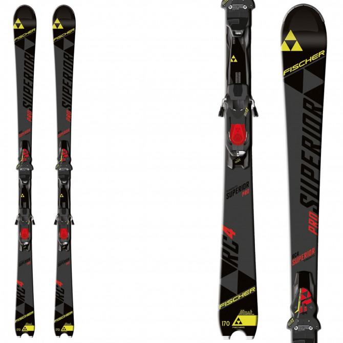 Ski Fischer Rc4 Superior Pro + bindings Rsx 12