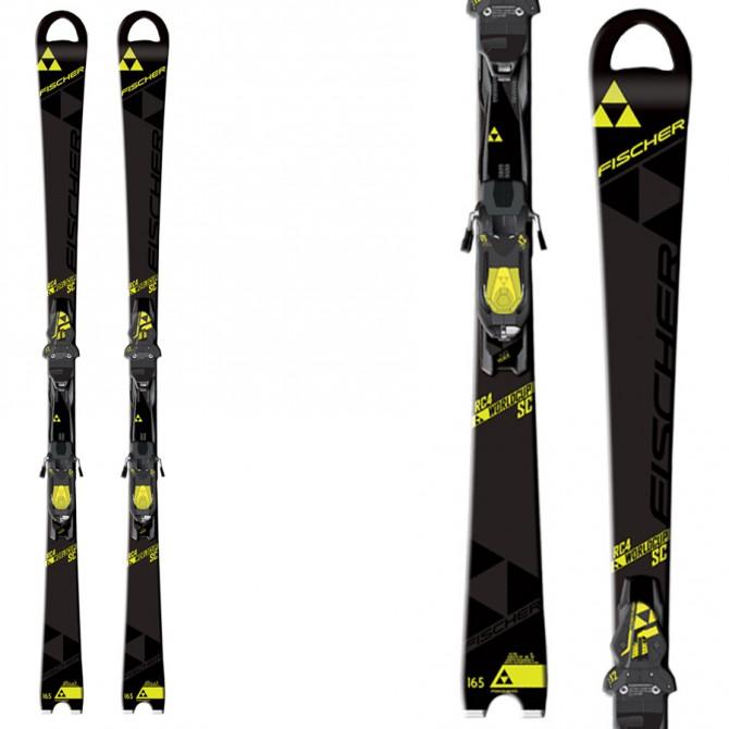 Ski Fischer RC4 Worldcup Sc Rt + bindings Rc4 Z12