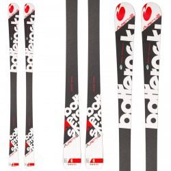Ski Bottero Ski Alpetta 2 + fixations Prd 11 + plaque Aso 10