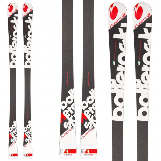 Esquí Bottero Ski Alpetta 2 + fijaciones Prd 11 + plata Aso 10