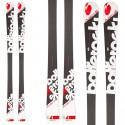 Ski Bottero Ski Alpetta 2 + fixations Tyrolia LX12 + plaque Aso 10