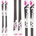 Ski Bottero Ski Femme + fixations Goode V212 + plaque Quicklook