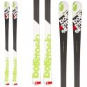 Ski Bottero Ski Grand Alpetta + bindings V614 + plate Vist WC