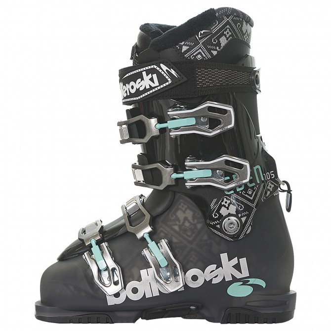 Scarponi sci Bottero Ski Eden 105 fumè-nero
