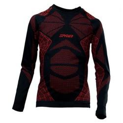Maglia intimo Spyder Racer nero-rosso