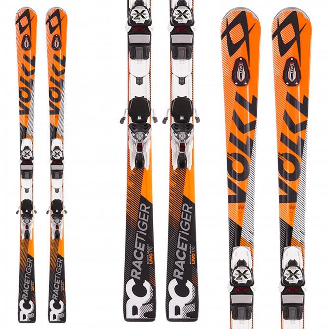 Ski Volkl Racetiger Rc Uvo + fixations X Motion 12.0 D
