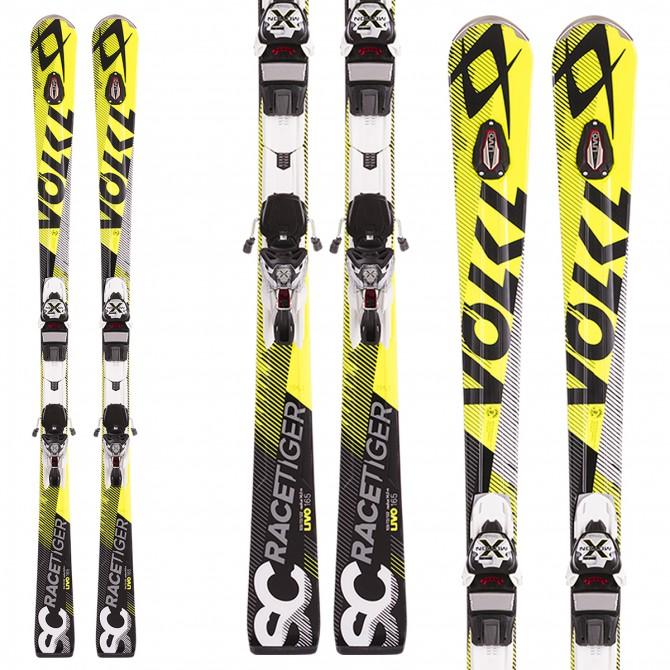 Ski Volkl Racetiger Sc Uvo + bindings X Motion 12.0 D
