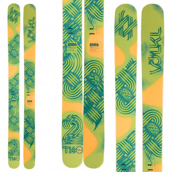 Ski Volkl Two + fixations Vist V614