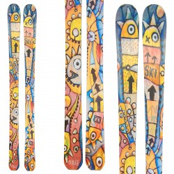 Ski Bottero Ski Namaste + bindings V614