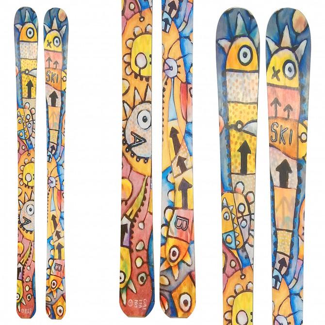 Sci Bottero Ski Namaste + attacchi Vist V614