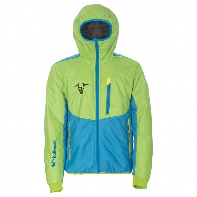 Chaqueta esquí Bottero Ski Alex Valle delle Meraviglie Hombre verde-azul