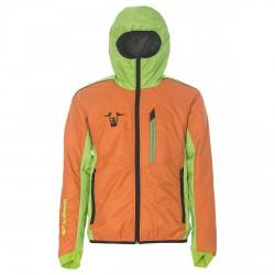 Giacca sci Bottero Ski Alex Valle delle Meraviglie arancio-verde
