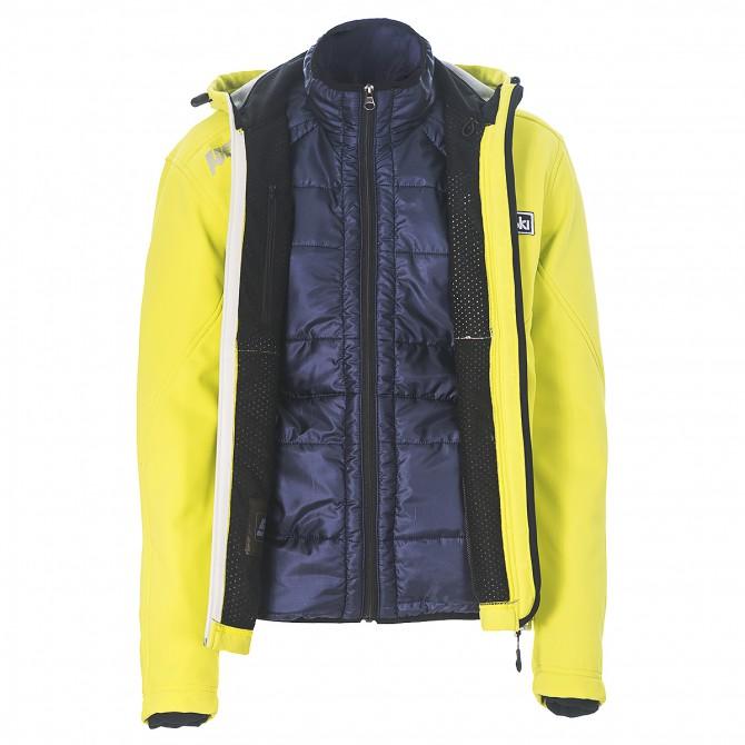 Ski jacket Bottero Ski Basilea Plus Man lime-blue