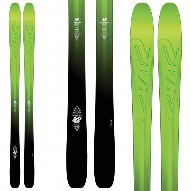 Ski K2 Pinnacle 95 + bindings Vist V614
