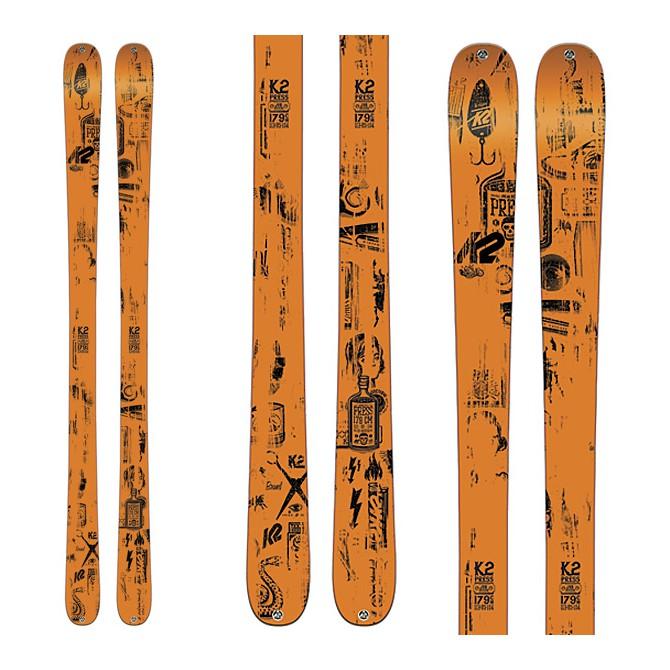 Esquí K2 Press + fijaciones Goode 212 + plata Quicklook