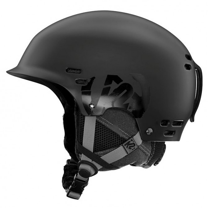 Ski helmet K2 Thrive black
