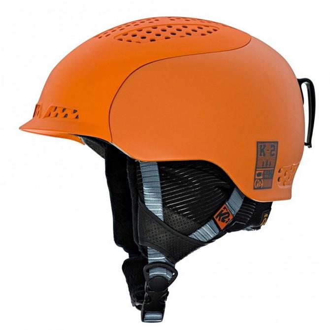 Casco sci K2 Diversion arancione