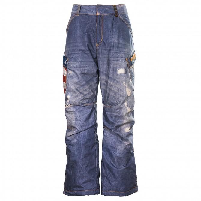 Pantalone sci Energiapura Usa Uomo America-blu jeans