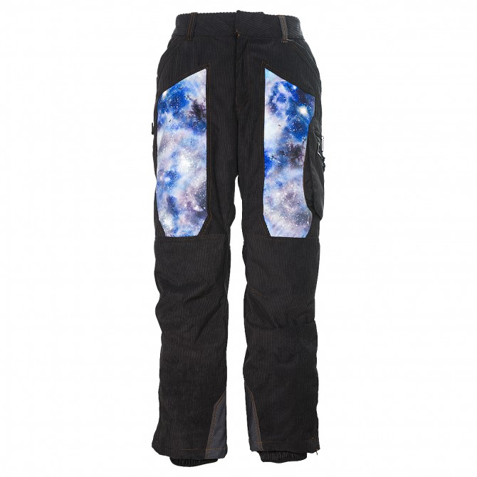 Pantalone sci Energiapura Velvet nero-universo