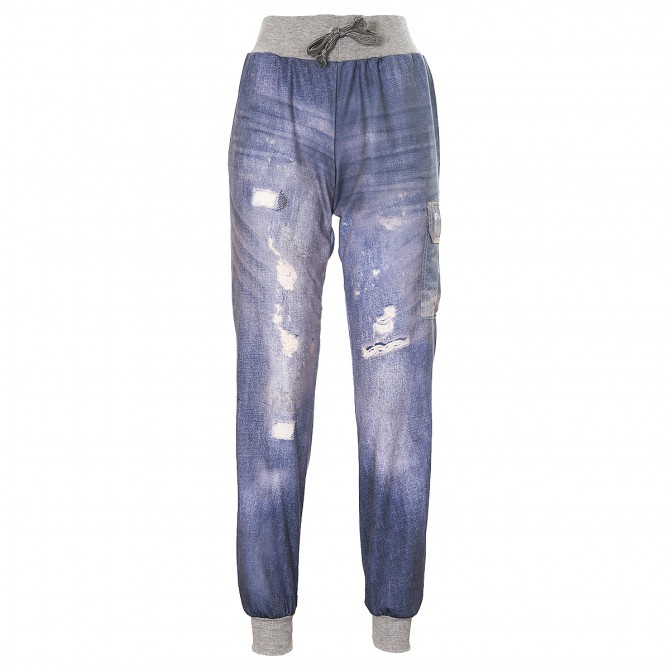 Pantalone tuta Energiapura Forsby Uomo blu jeans sbiadito