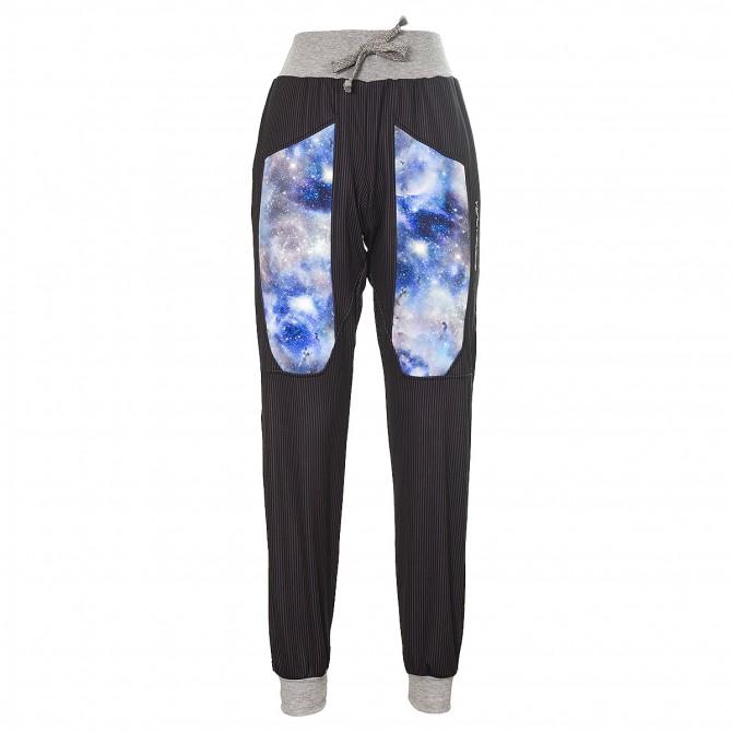 Pantalone felpa Energiapura Universe Uomo nero-Universo