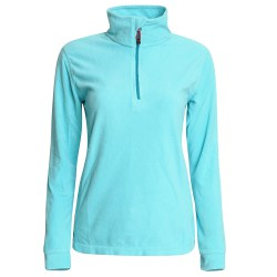 Micropile Rock Experience Tempus fleece Donna verde acqua