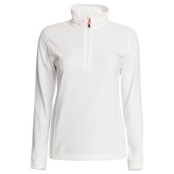 Micropile Rock Experience Tempus fleece Donna bianco