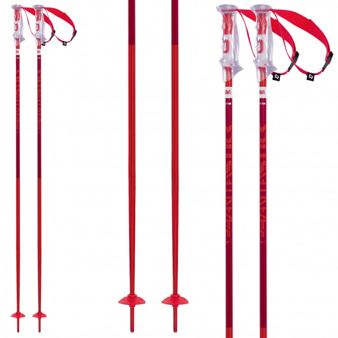 Ski poles Volkl Phantastick 2 red