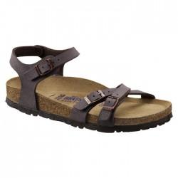 Sandale Birkenstock Kumba femme brun