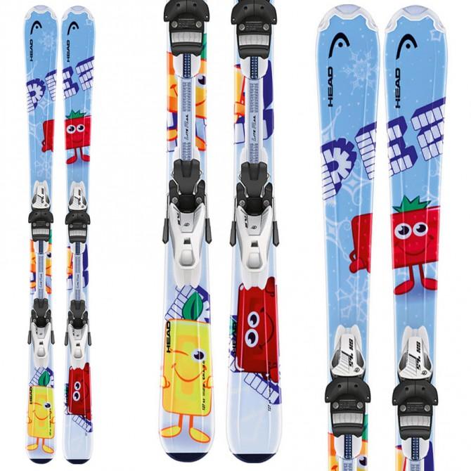 ski Head Pez Team + Fixations Lrx 4.5 Ac