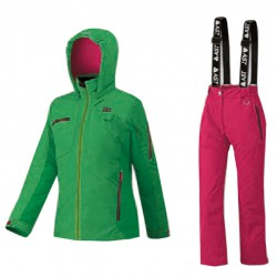 Ski suit Astrolabio JP9U Girl