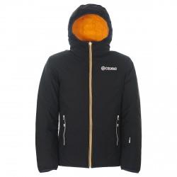 Chaqueta esquí Vail 1003-4NZ gris-aranja Hombre